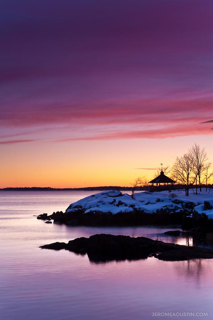 Sunset on the Sound ⋅ Larchmont, NY ⋅ 2009