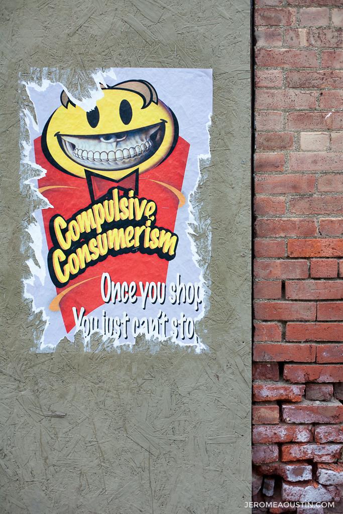 Compulsive Consumerism ⋅ Beacon, NY ⋅ 2010