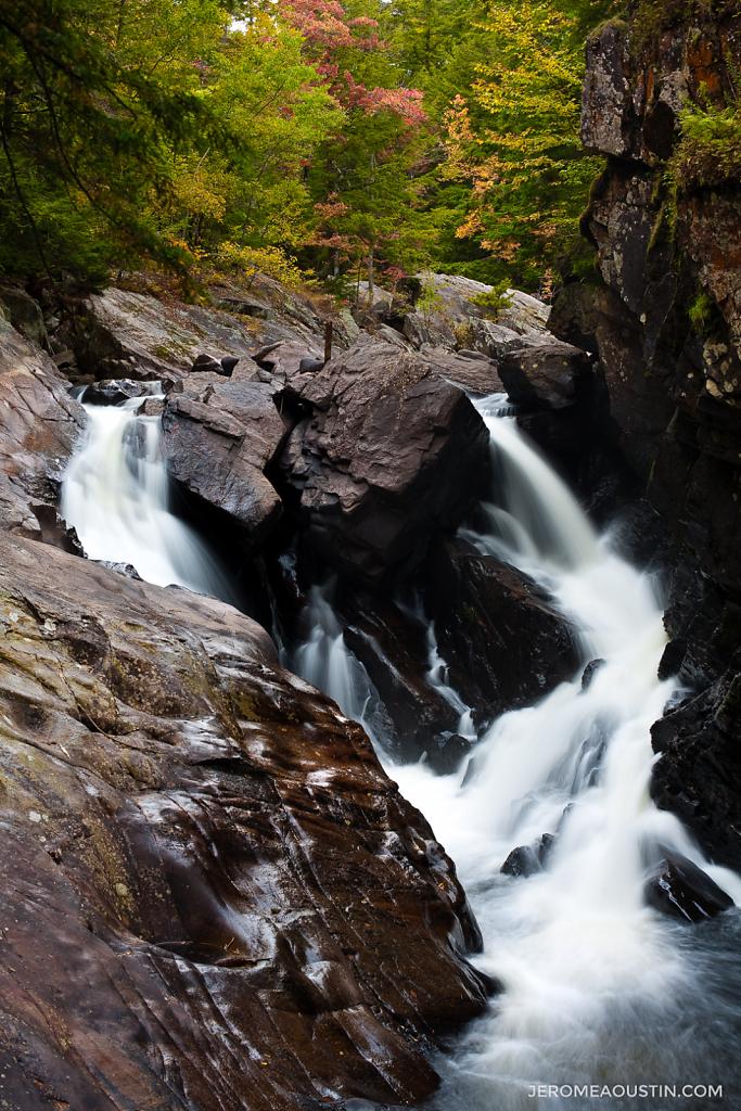 Auger Falls ⋅ Adirondacks, NY ⋅ 2009