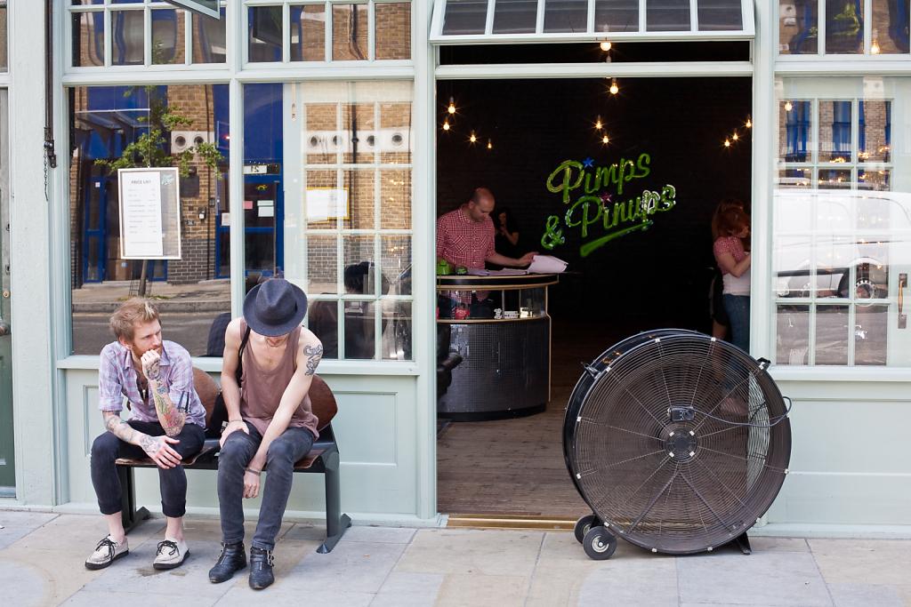 Pimps & Pinups ⋅ Spitalfields, London ⋅ 2010